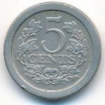 Нидерланды, 5 центов (1909 г.)