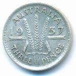 Австралия, 3 пенса (1957 г.)