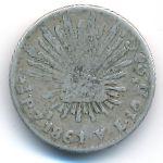 Мексика, 1/2 реала (1861 г.)