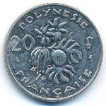 Французская Полинезия, 20 франков (1977–2004 г.)