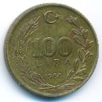 Турция, 100 лир (1988 г.)