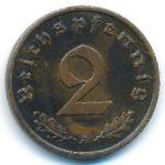 Третий Рейх, 2 рейхспфеннига (1937–1938 г.)