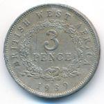 Британская Западная Африка, 3 пенса (1938–1947 г.)