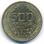 Джибути, 500 франков (1991–2010 г.)
