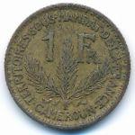 Камерун, 1 франк (1925 г.)