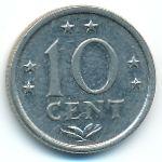 Антильские острова, 10 центов (1971 г.)