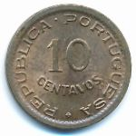 Ангола, 10 сентаво (1949 г.)