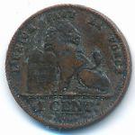 Бельгия, 1 сентим (1901–1907 г.)