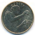 Западная Африка, 25 франков (1980–2011 г.)