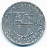 Маврикий, 1 рупия (1987–2008 г.)