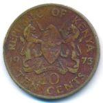 Кения, 10 центов (1969–1978 г.)