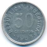 Аргентина, 50 сентаво (1955 г.)