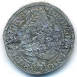 Силезия, 6 крейцеров (1676 г.)