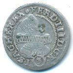 Силезия, 3 крейцера (1637 г.)