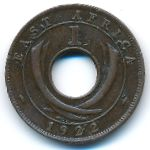 Восточная Африка, 1 цент (1922–1930 г.)