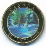 Канада, 50 центов (2008 г.)