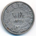 Швейцария, 1/2 франка (1914–1967 г.)