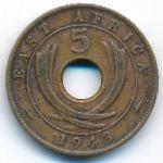 Восточная Африка, 5 центов (1942–1943 г.)