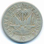 Гаити, 10 сентим (1958–1970 г.)