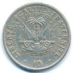 Гаити, 10 сентим (1975 г.)