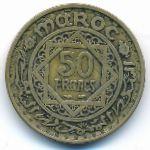 Марокко, 50 франков (1951 г.)