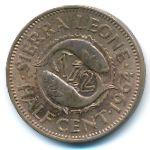 Сьерра-Леоне, 1/2 цента (1964 г.)