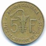 Западная Африка, 5 франков (1979 г.)