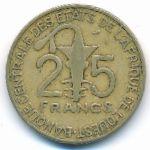 Западная Африка, 25 франков (1990 г.)