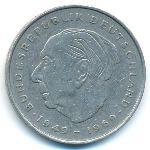 ФРГ, 2 марки (1971–1986 г.)