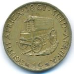 ЮАР, 1 цент (1961–1963 г.)