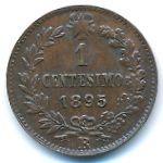 Италия, 1 чентезимо (1895–1900 г.)