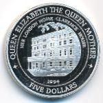 Фиджи, 5 долларов (1994 г.)