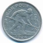 Люксембург, 1 франк (1924–1928 г.)