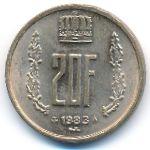 Люксембург, 20 франков (1980–1983 г.)