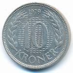 Дания, 10 крон (1979–1981 г.)