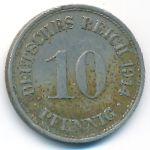 Германия, 10 пфеннигов (1914 г.)
