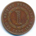 Британский Гондурас, 1 цент (1944–1947 г.)