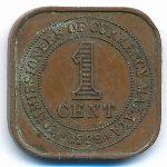 Малайя, 1 цент (1939–1941 г.)