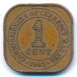 Малайя, 1 цент (1943–1945 г.)