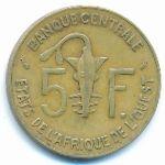 Западная Африка, 5 франков (1985 г.)