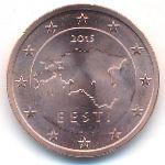Эстония, 2 евроцента (2011–2015 г.)