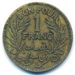 Тунис, 1 франк (1941–1945 г.)