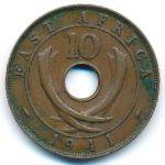 Восточная Африка, 10 центов (1937–1941 г.)