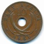 Восточная Африка, 10 центов (1949–1951 г.)