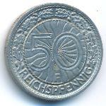 Веймарская республика, 50 рейхспфеннигов (1927–1929 г.)