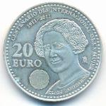 Испания, 20 евро (2011 г.)