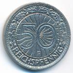 Веймарская республика, 50 рейхспфеннигов (1928–1929 г.)