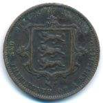 Джерси, 1/13 шиллинга (1866–1871 г.)