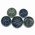 Исландия, Набор монет
