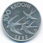 Эстония, 100 крон (1992 г.)